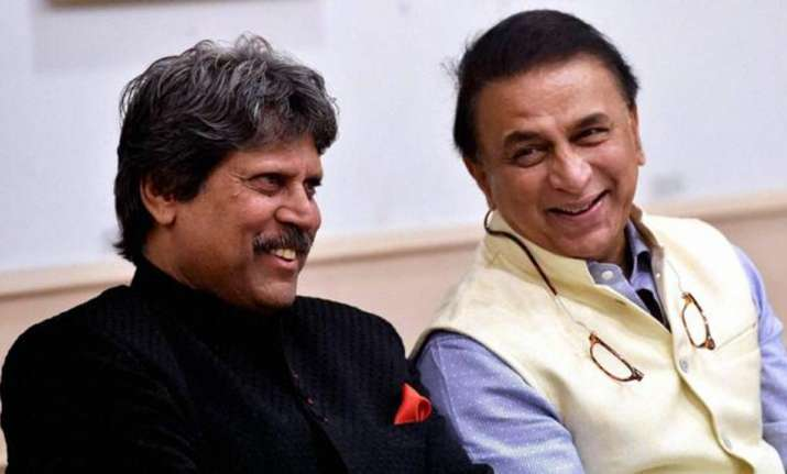 Kapil Dev and Sunil Gavaskar- File photo
