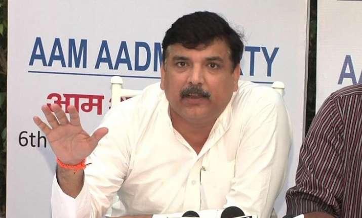 AAP spokesperson Sanjay Singh