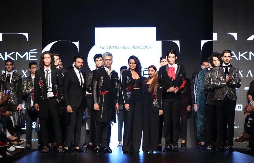 Needless to say, Sonakshi and Karan looked super stylish together.
