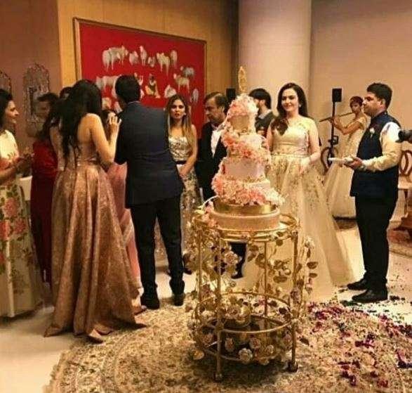 Inside pictures of Akash Ambani and Shloka Mehta's engagement party