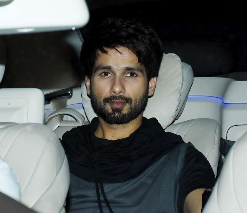 Shahid Kapoor attended the screening looking hot as ever. Ishaan earlier revealed that he is nervous as his brother will watch the movie for the first time today.