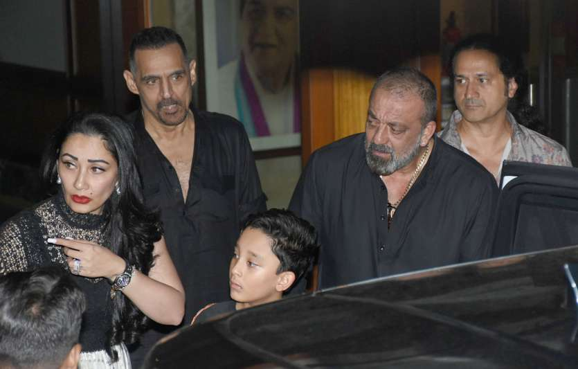 Inside pictures of Sanjay Dutt's birthday celebrations with