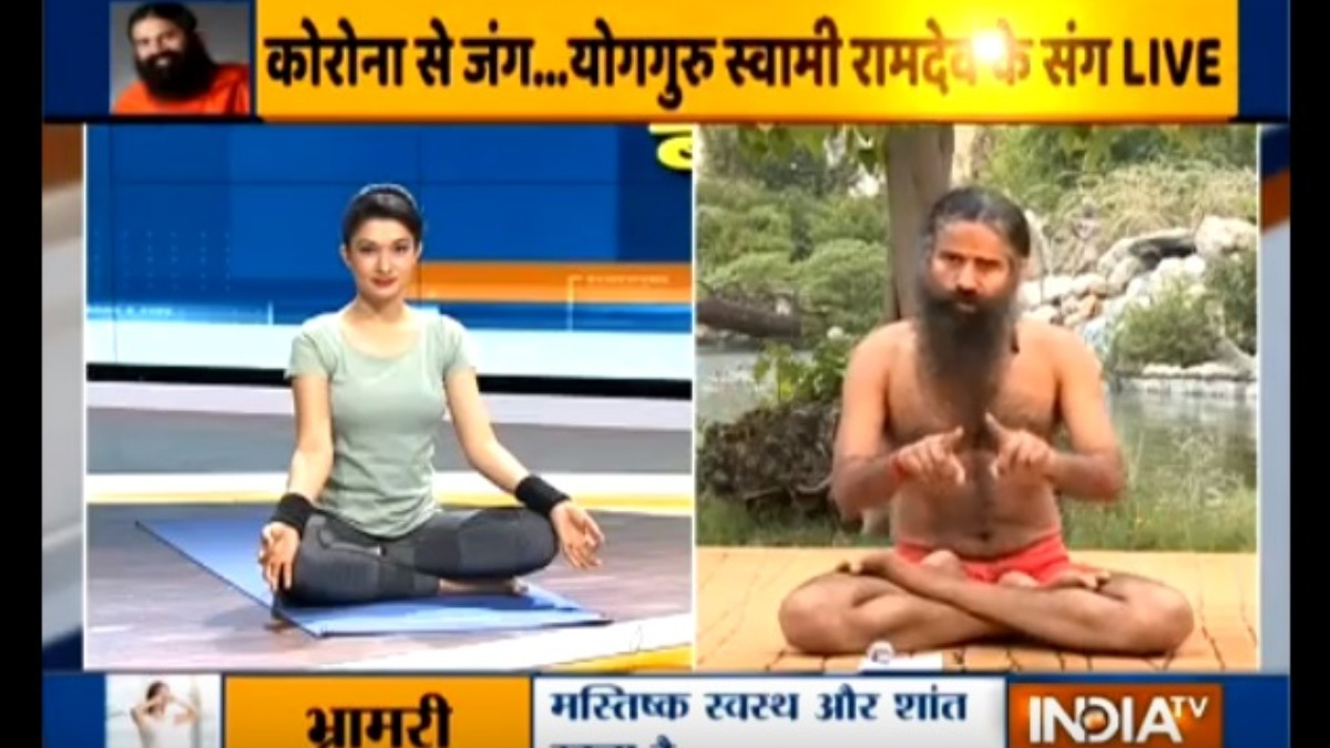 Yoga For Complete Beginners Swami Ramdev Suggests Easy Yoga Asanas Yoga News India Tv