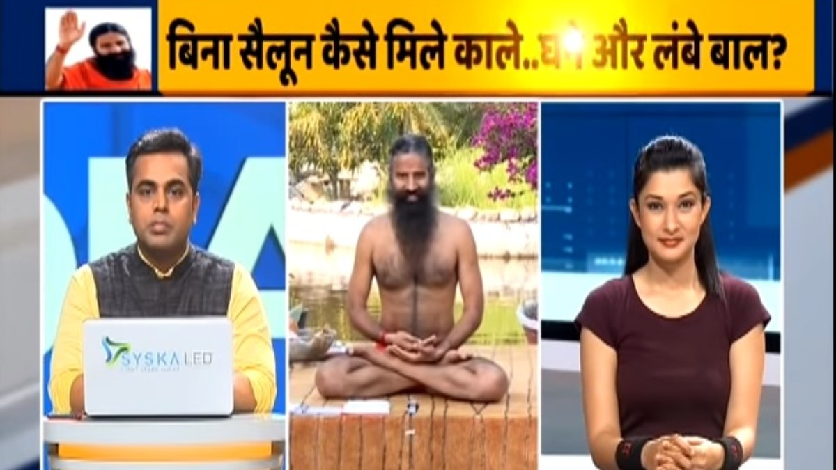 Worried about dandruff and hair fall? Swami Ramdev shares home ...