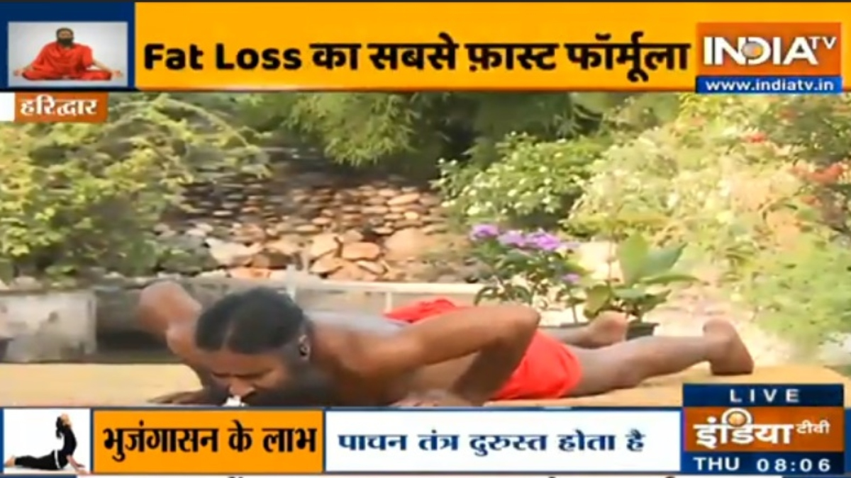 Yoga For Weight Loss Want To Lose 3 Kgs In 5 Days Learn From Swami Ramdev How It Is Possible Yoga News India Tv