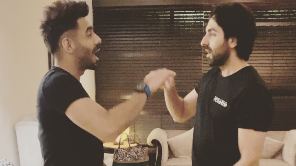 indiatvnews.com - India TV Entertainment Desk - Ayushmann Khurrana and brother Aparshakti get nostalgic as they play Aao Milo Shilo Shalo | VIDEO