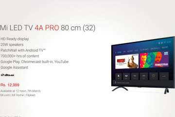 150baaa43a4 Xiaomi Mi LED TV 4A PRO 32 Smart TV launched in India  Price ...