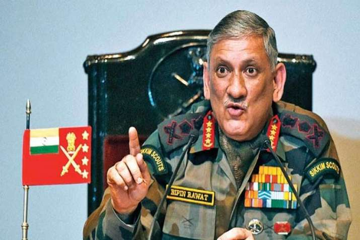 Army chief asserts India's policy independence amid row