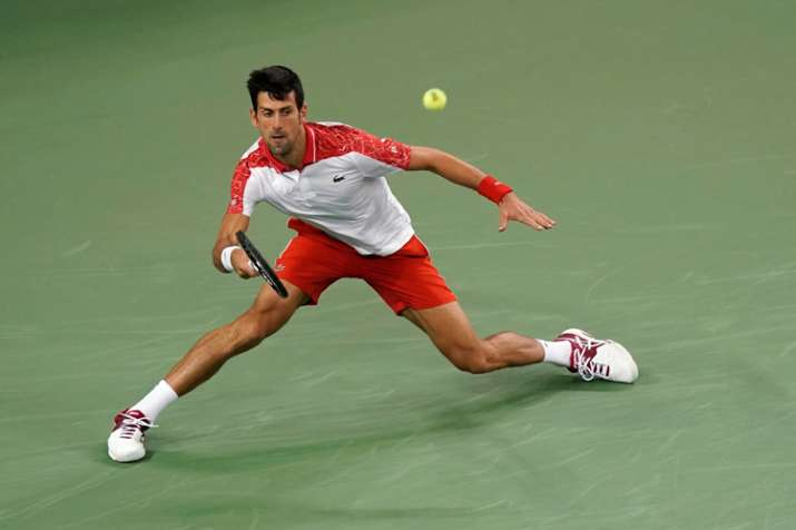 Novak Djokovic too hot again for Jeremy Chardy at Shanghai Masters