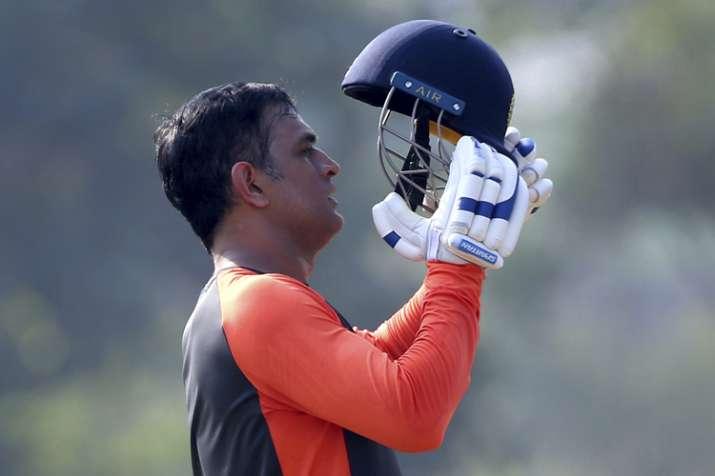 MS Dhoni india vs west indies