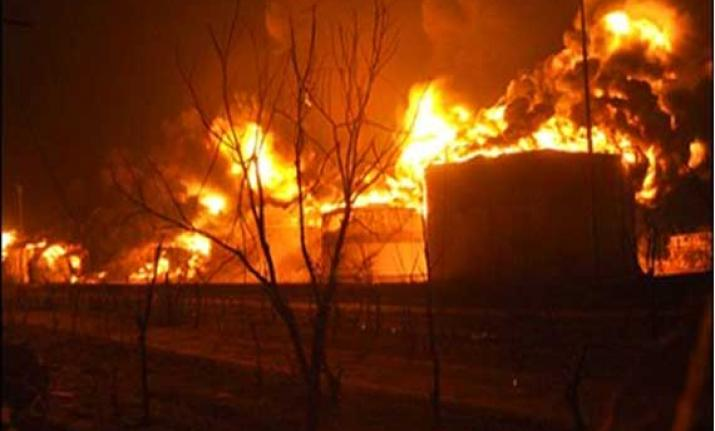 Major fire breaks out at Kanpur factory