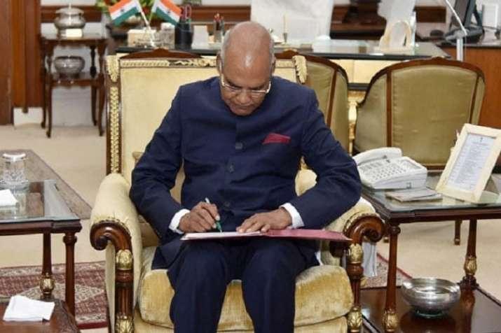 President Kovind nods a Telangana Bill