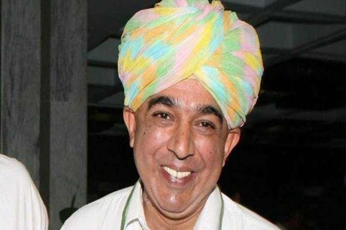 Congress leader Manavendra Singh