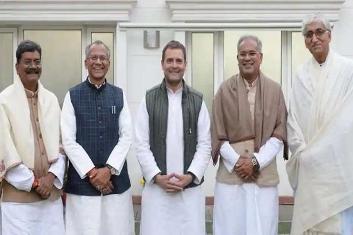 Earlier on Saturday, Rahul Gandhi held talks with four
