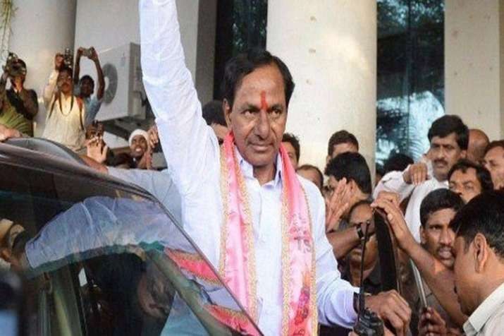 TRS was all throughout in the lead since the counting of