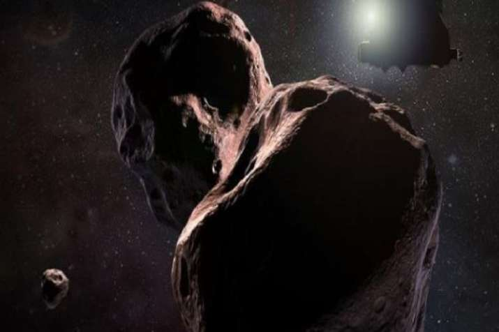 NASA's New Horizons spacecraft which made history in 2015