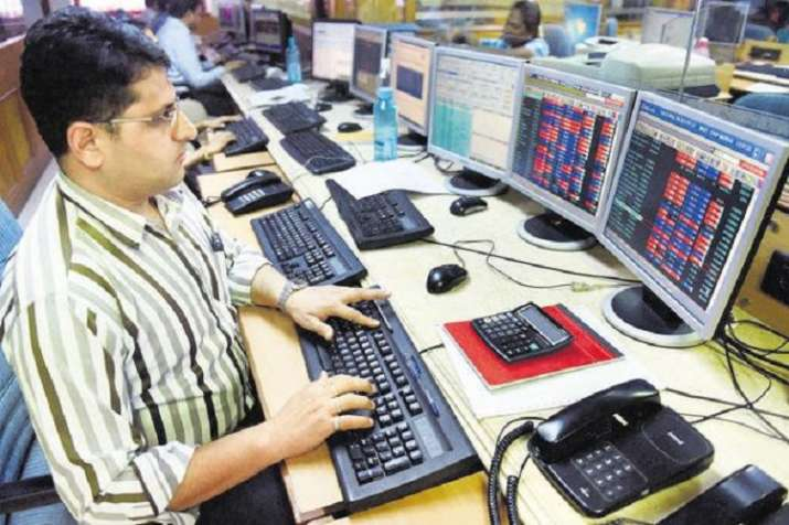 In the Asian markets too, indices traded on a positive note