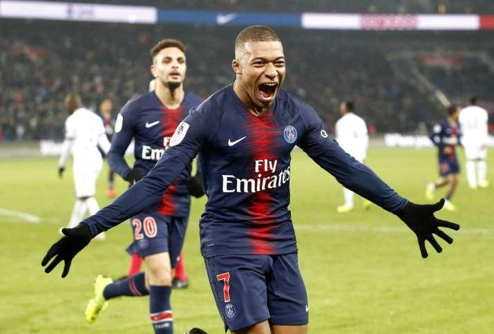 Cavani, Mbappe score 3 each as PSG rout Guingamp 9-0