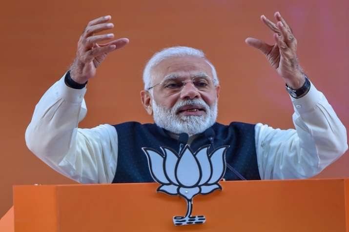 Modi alleged that the Congress even tried to impeach former