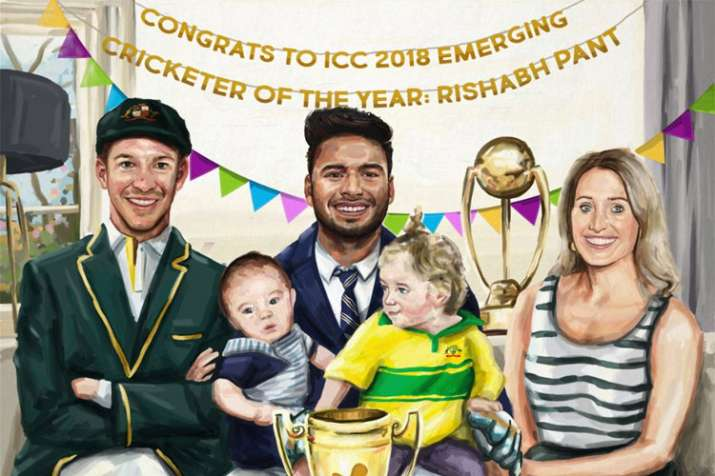 ICC trolls Rishabh Pant after naming him Emerging Player of the Year
