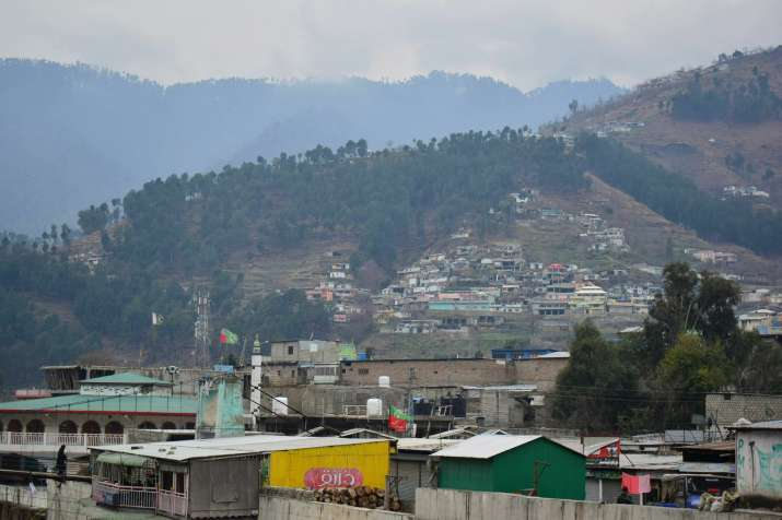 A view of Pakistani village Balakot, Pakistan