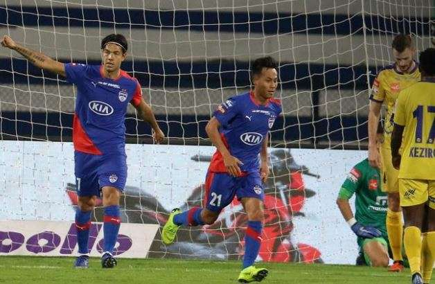ISL 2019: Bengaluru FC fight back to draw Kerala Blasters 2-2