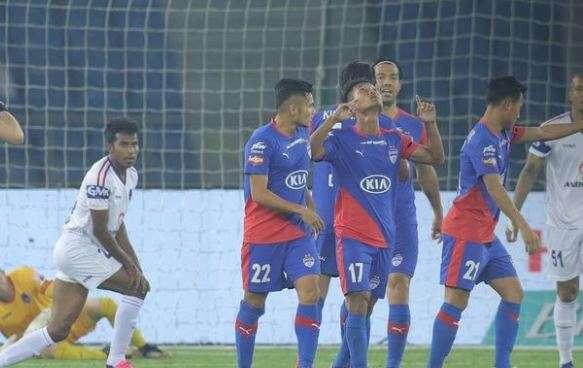 Delhi Dynamos hand Bengaluru FC another shocking loss