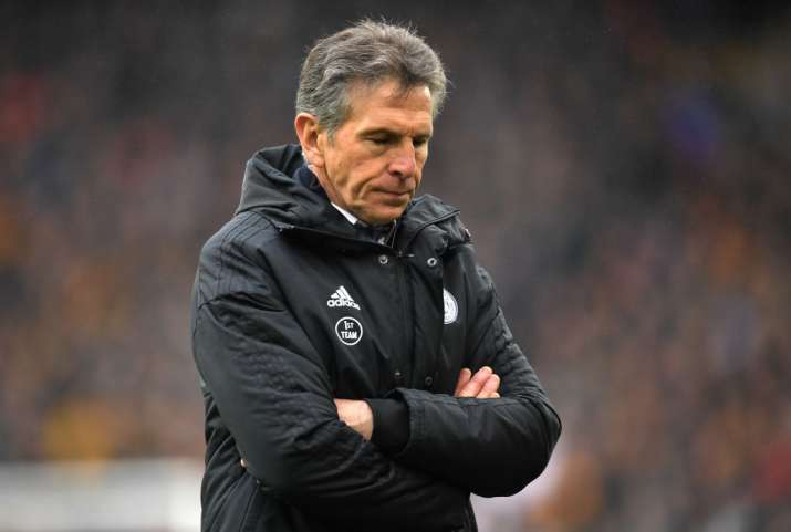 Leicester sack Claude Puel after winless run