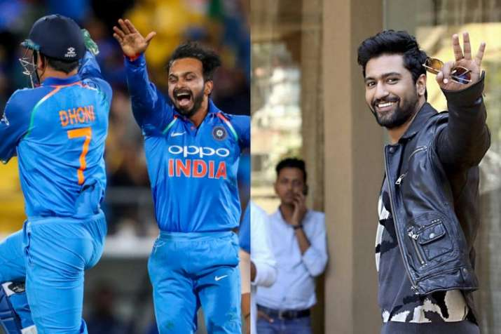 Kedar Jadhav leads India's celebration in Wellington with 'How's the Josh?' chants, Vicky Kaushal re