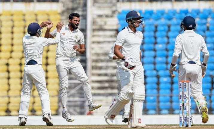 Ranji Trophy 2019 Final Vidarbha vs Saurasthra