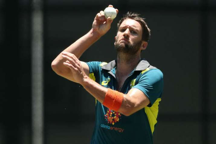 India vs Australia Andrew Tye replaces injured Kane Richardson for rest of the tour