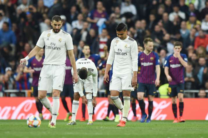 Real Madrid pride on line in second straight 'El Clasico' against FC Barcelona