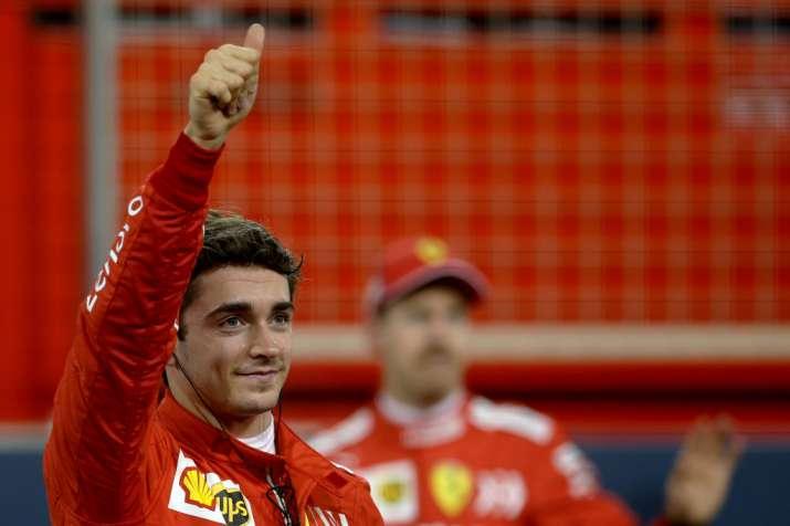 Ferrari dominates as Leclerc takes first pole at Bahrain GP
