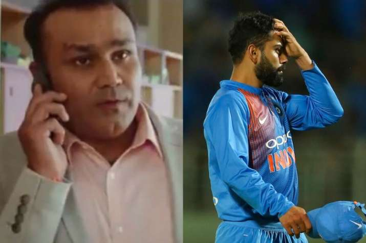 Virender Sehwag, India vs Australia