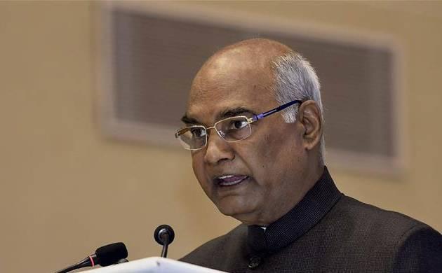 President Ram Nath Kovind will sign theproclamation for