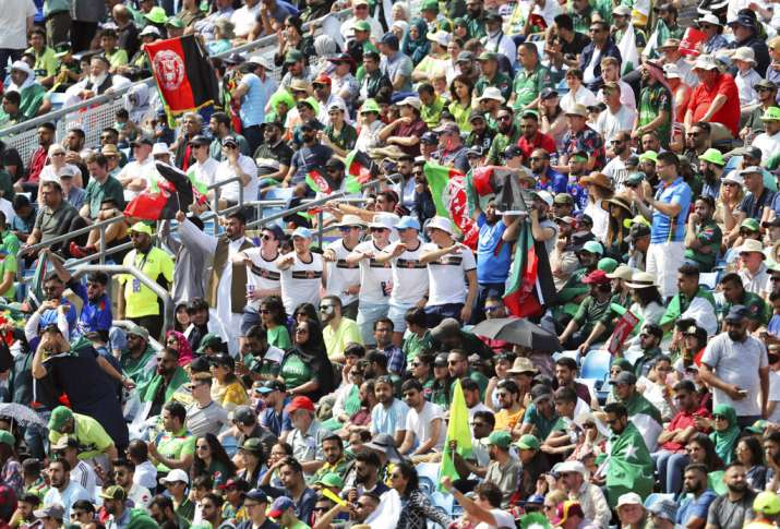 2019 World Cup: Afghanistan, Pakistan fans clash at Headingley during match