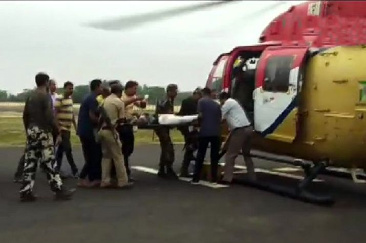 One jawan martyred in Maoists encounter in Dumka district,