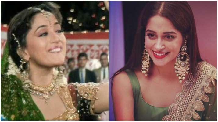 Kahaan Hum Kahaan Tum: Dipika Kakar steps into Madhuri Dixit's shoes and dances on 'Chane Ke Khet Me