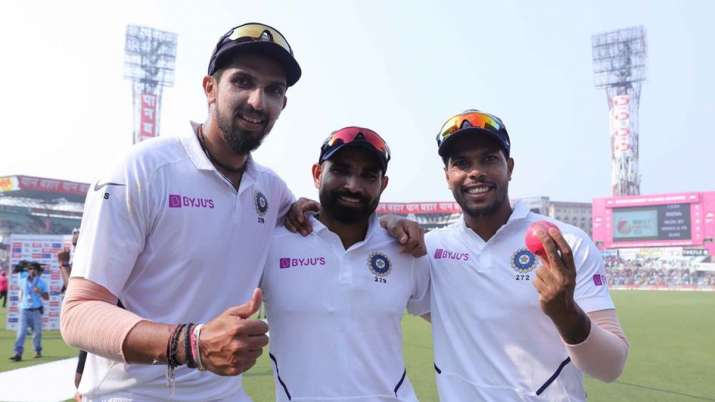 mohammed shami, jasprit bumrah, ishant sharma, umesh yadav, team india, indian test team