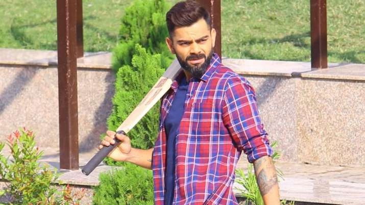 Virat Kohli plays 'gully cricket' with kids ahead of first Test against Bangladesh | WATCH