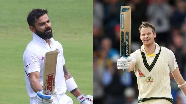david warner, virat kohli, steve smith, virat kohli vs steve smith, virat vs smith, australia vs ind