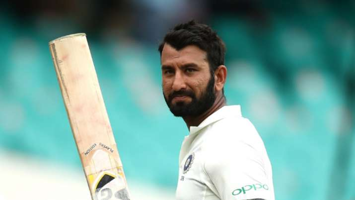 India's Test specialist batsman Cheteshwar Pujara hit the