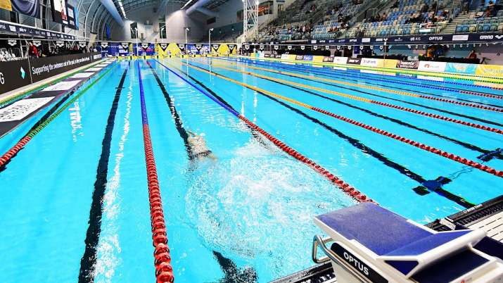 swimming, sp likith, swimming federation of india, sfi