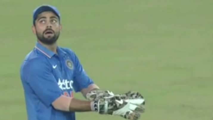 Virat Kohli recalls the moment when MS Dhoni asked him to keep wickets