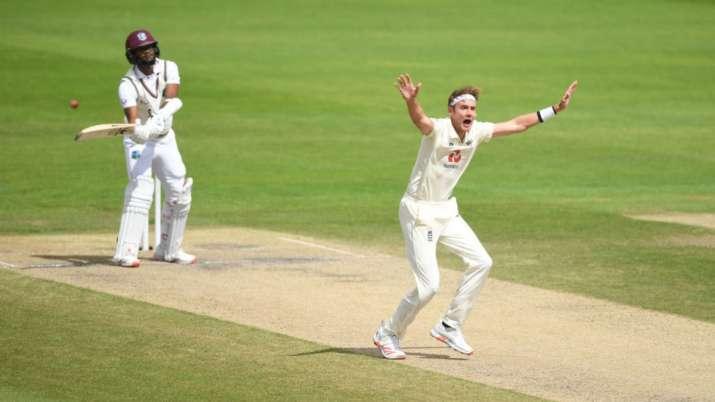 stuart broad, kraigg brathwaite, james anderson, stuart broad 500 wickets, england vs west indies, e