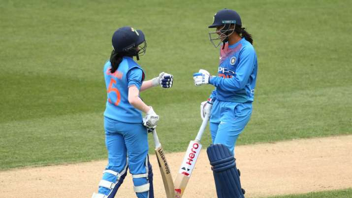 The Indian women's team is currently placed second in the