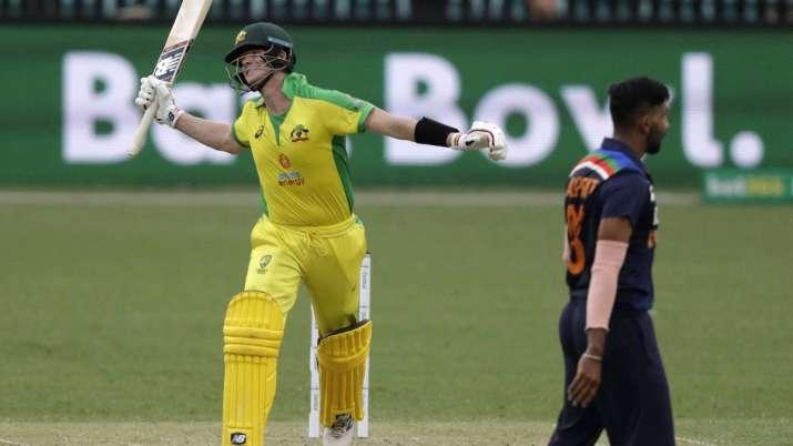 Steve Smith against India