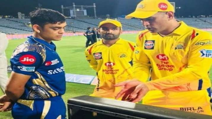 Ishan Kishan and MS Dhoni