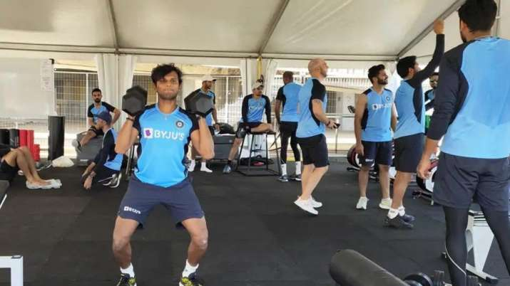 Team India gearing up for Australia series