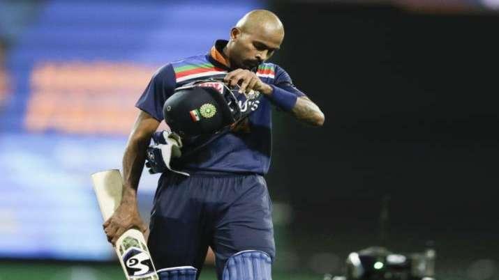 Hardik Pandya against Australia
